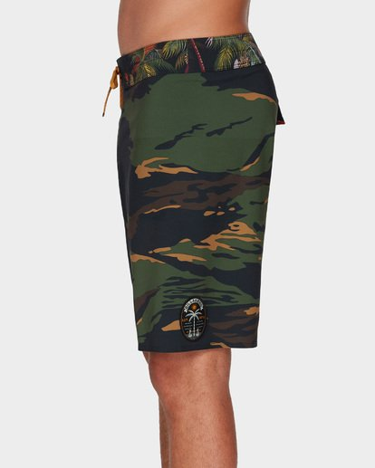 "4 DBAH AIRLITE 19"" BOARDSHORTS Green 9591402 Billabong"