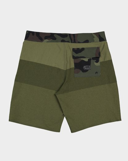 1 TRIBONG HEATHER AIRLITE BOARDSHORTS Green 9591403 Billabong
