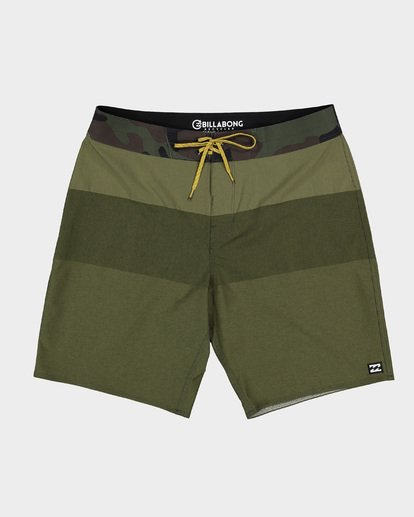 0 TRIBONG HEATHER AIRLITE BOARDSHORTS Green 9591403 Billabong