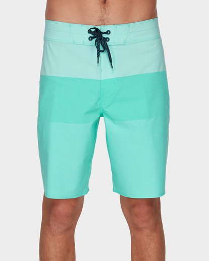2 TRIBONG HEATHER AIRLITE BOARDSHORTS Blue 9591403 Billabong