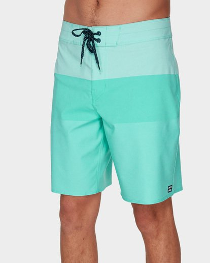 3 TRIBONG HEATHER AIRLITE BOARDSHORTS Blue 9591403 Billabong