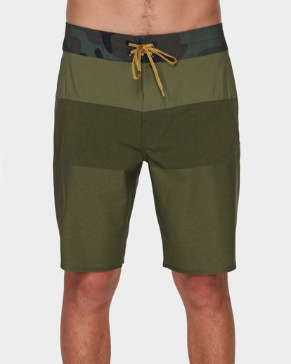 2 TRIBONG HEATHER AIRLITE BOARDSHORTS Green 9591403 Billabong