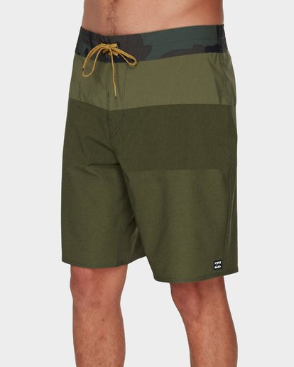 3 TRIBONG HEATHER AIRLITE BOARDSHORTS Green 9591403 Billabong