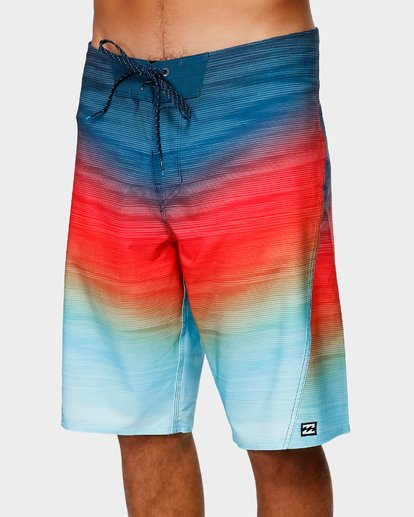 3 FLUID PRO BOARDSHORTS Orange 9591405 Billabong