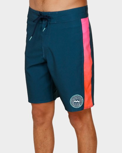 3 D Bah Pro Boardshorts Blue 9591407 Billabong