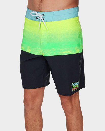 3 FIFTY50 FADE PRO BOARDSHORTS Green 9591408 Billabong