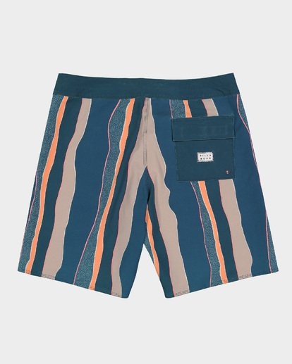 1 SUNDAYS STRIPE PRO BOARDSHORTS Blue 9591409 Billabong