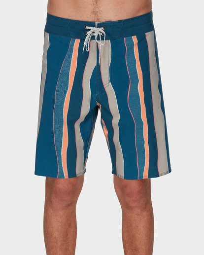 2 SUNDAYS STRIPE PRO BOARDSHORTS Blue 9591409 Billabong