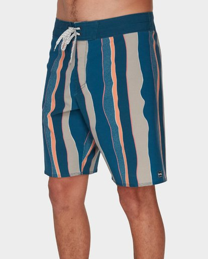 3 SUNDAYS STRIPE PRO BOARDSHORTS Blue 9591409 Billabong