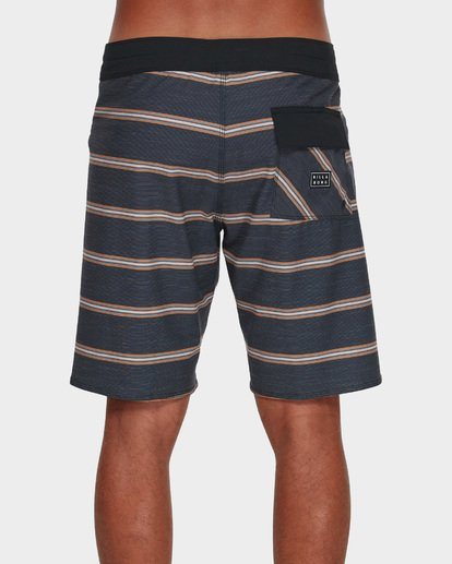 4 SUNDAYS STRIPE PRO BOARDSHORTS Blue 9591409 Billabong