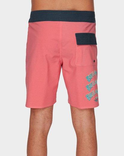 4 WARP PRO BOARDSHORTS Pink 9591410 Billabong
