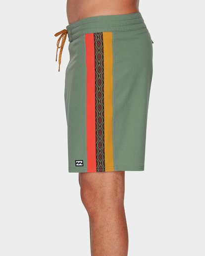 4 D BAH LT BOARDSHORTS Green 9591414 Billabong