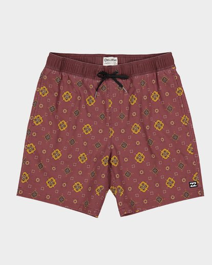 0 SUNDAYS LAYBACK BOARDSHORTS Brown 9591418 Billabong