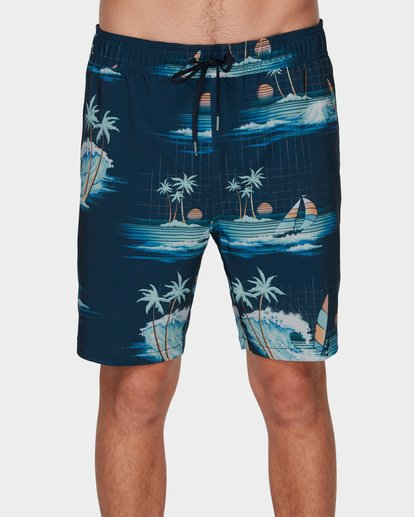 2 Sundays Layback Boardshorts Blue 9591418 Billabong