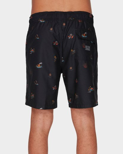 4 SUNDAYS LAYBACK BOARDSHORTS Black 9591418 Billabong