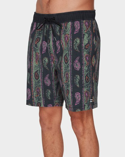 3 SUNDAYS LAYBACK BOARDSHORTS Grey 9591418 Billabong