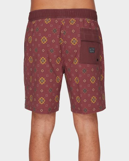 4 SUNDAYS LAYBACK BOARDSHORTS Brown 9591418 Billabong