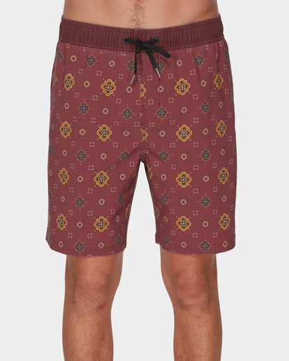 2 SUNDAYS LAYBACK BOARDSHORTS Brown 9591418 Billabong
