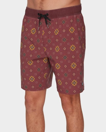 3 Sundays Layback Boardshorts Brown 9591418 Billabong