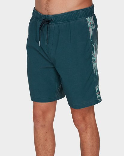 3 D Bah Layback Boardshorts Blue 9591419 Billabong