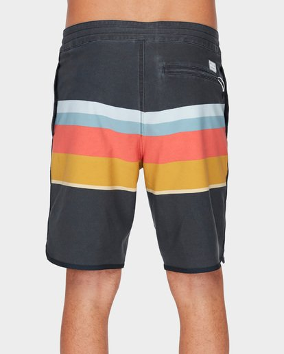 4 73 STRIPE LT BOARDSHORTS Blue 9591420 Billabong