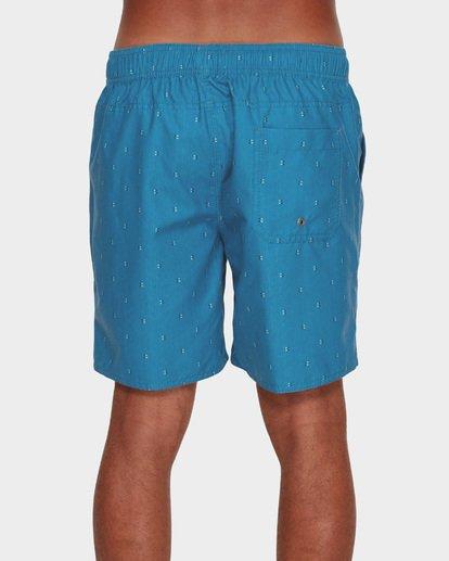 4 All Day Mini Mark Layback Boardshorts Blue 9591427 Billabong