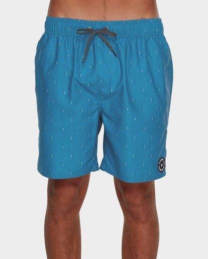 2 All Day Mini Mark Layback Boardshorts Blue 9591427 Billabong