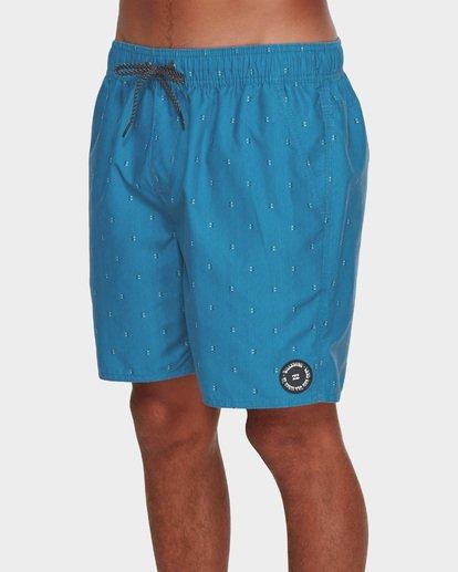 3 All Day Mini Mark Layback Boardshorts Blue 9591427 Billabong