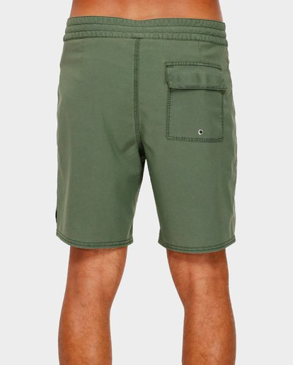 4 All Day Overdye Pro Boardshorts Green 9591428 Billabong