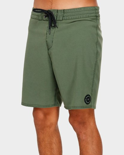 3 All Day Overdye Pro Boardshorts Green 9591428 Billabong