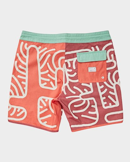 1 Cactus 73 Lo Tide Boardshorts Orange 9591430 Billabong