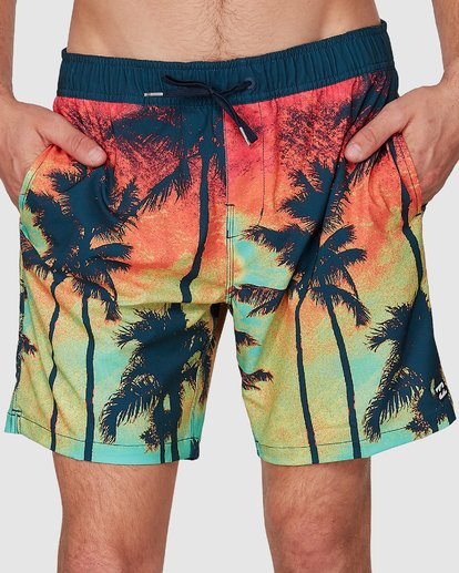 2 SUNDAYS LAYBACK BOARDSHORTS Blue 9591435X Billabong