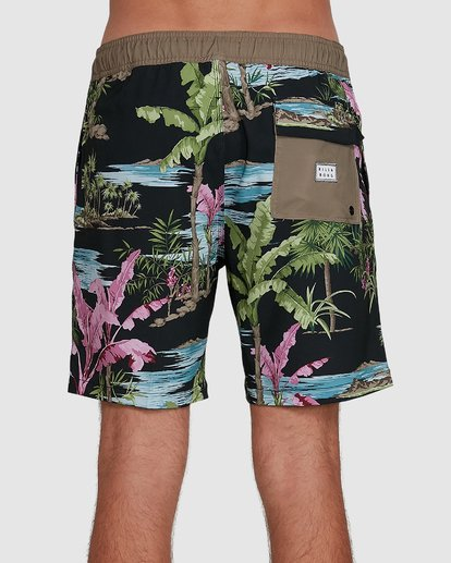 4 Sundays Layback Boardshort Blue 9591435X Billabong