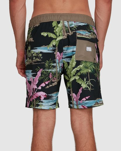 7 Sundays Layback Boardshort Blue 9591435X Billabong