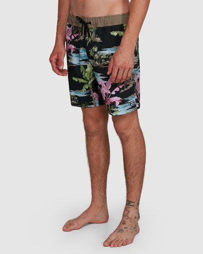 9 Sundays Layback Boardshort Blue 9591435X Billabong