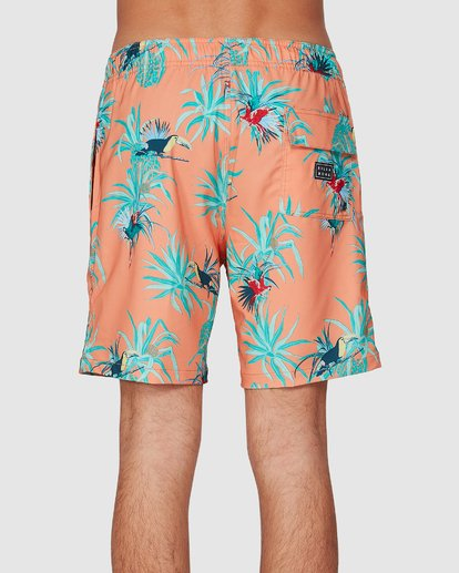 1 Sundays Layback Boardshort Orange 9591435X Billabong