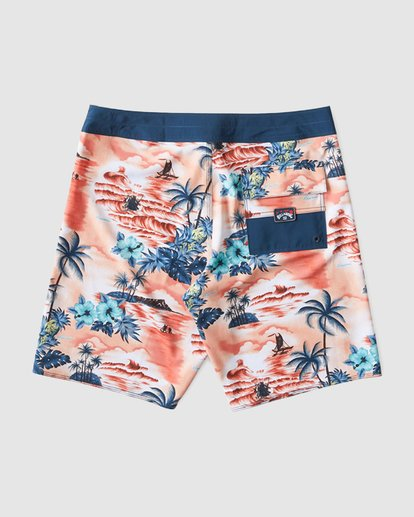 1 SUNDAYS AIRLITE HAWAII BOARDSHORTS Orange 9591440M Billabong