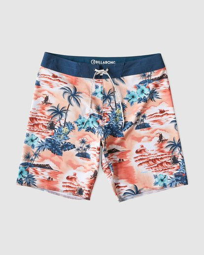 0 SUNDAYS AIRLITE HAWAII BOARDSHORTS Orange 9591440M Billabong