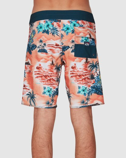 4 Sundays Airlite Hawaii Boardshorts Orange 9591440M Billabong