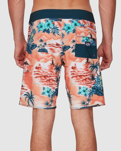 7 Sundays Airlite Hawaii Boardshorts Orange 9591440M Billabong