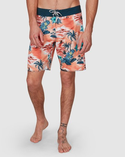 11 SUNDAYS AIRLITE HAWAII BOARDSHORTS Orange 9591440M Billabong