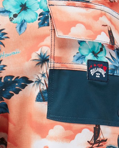 12 SUNDAYS AIRLITE HAWAII BOARDSHORTS Orange 9591440M Billabong