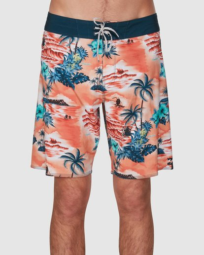 2 Sundays Airlite Hawaii Boardshorts Orange 9591440M Billabong