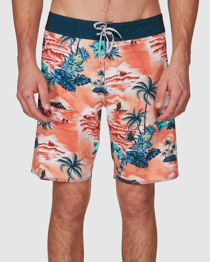 5 Sundays Airlite Hawaii Boardshorts Orange 9591440M Billabong