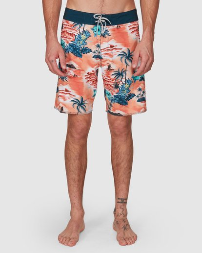 8 SUNDAYS AIRLITE HAWAII BOARDSHORTS Orange 9591440M Billabong