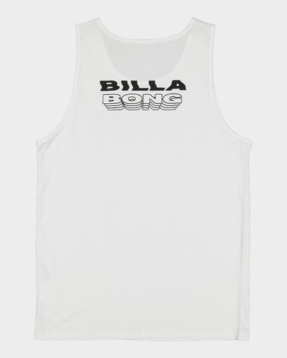 5 Under Cut Tank White 9591502 Billabong