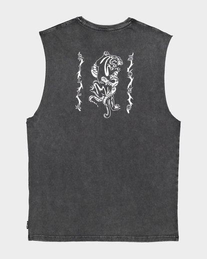 5 DONT PUMA ME MUSCLE TANK Black 9591508 Billabong