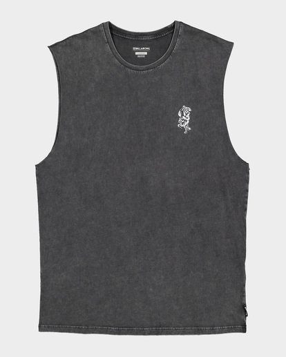 4 DONT PUMA ME MUSCLE TANK Black 9591508 Billabong