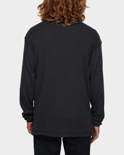 3 Essential Thermal Tee Black 9591601 Billabong
