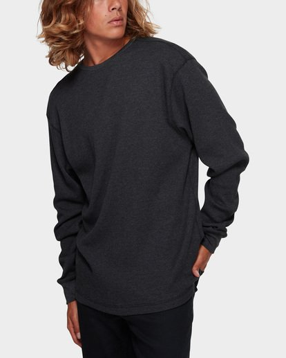 1 Essential Thermal Tee Black 9591601 Billabong